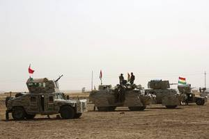 iraqi forces push into the country's last is-held town
