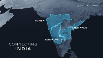 A Rebranded Hyperloop One Lays Out Preliminary Plans for India