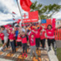 Tongan league fans continue to paint the town red