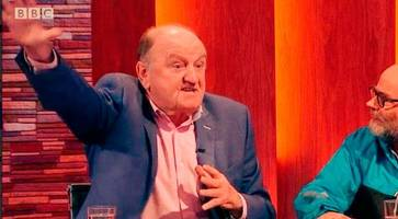 commentator's nazi salute on nolan live condemned by jewish community
