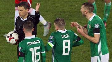 dropped: northern ireland's penalty controversy referee left off world cup list