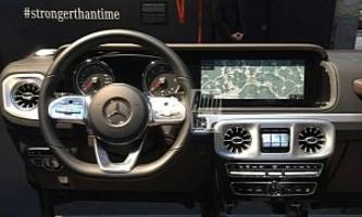 Let's Talk About the 2019 Mercedes-Benz G-Class Interior