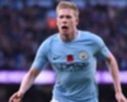 de bruyne sets premier league record with another man city thunderbolt