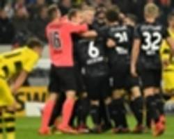 'We have to dominate' - Schurrle upset after Dortmund's Stuttgart failure