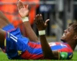 wilfried zaha disappointed with crystal palace's draw vs. everton