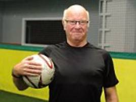 Bobby and Jack Charlton's brother Tom plays football at 71