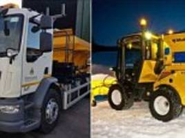 Council names gritters Gritsy Bitsy and David Plowie