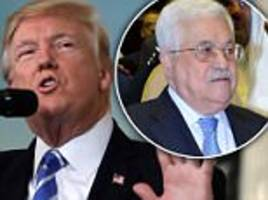 US puts Palestinians on notice: DC office may be shuttered