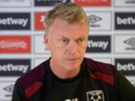 David Moyes will not accept apologies from flops