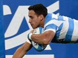 Italy 15-31 Argentina: Late tries secure Pumas victory