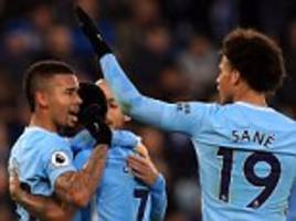 Leicester 0-2 Man City: PL leaders earn 10th straight win