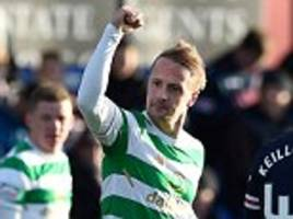ross county 0-1 celtic: super sub leigh griffiths