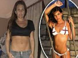 danielle lloyd reveals body battles despite model career