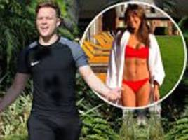 Olly Murs, 33, raises eyebrows in  VERY tight joggers