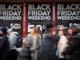 britons to spend £7bn over black friday weekend