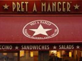 pret a manger not yet ready for listing in new york