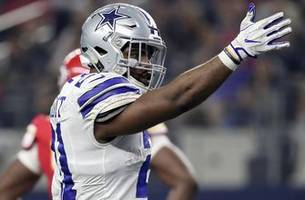 cris carter on ezekiel elliott: 'he can still reach his goals' after suspension
