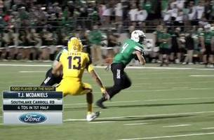 player of the night: s.l. carroll's - tj mcdaniels | football friday
