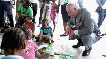 hurricane damage 'heartbreaking' - prince charles