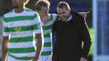 celtic: brendan rodgers relishes leigh griffiths' 'moment of magic'