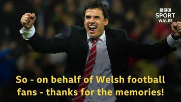 Chris Coleman: Farewell to a Welsh managerial hero