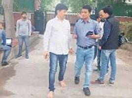 farmer refuses to wear shoes for six years for krishna