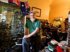 hoarder from victoria reveals why he started collecting