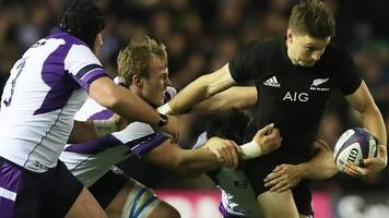 All Blacks hold off valiant Scotland in thriller