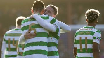 Griffiths free-kick gives Celtic win at Ross County