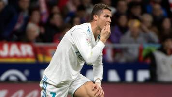 madrid derby ends goalless to leave barca 10 points clear of both sides