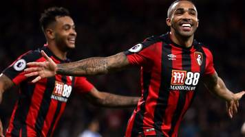 Bournemouth 4-0 Huddersfield: Eddie Howe 'delighted' for hat-trick hero Callum Wilson