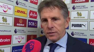 Leicester 0-2 Man City: Foxes beaten by best team in Europe - Claude Puel