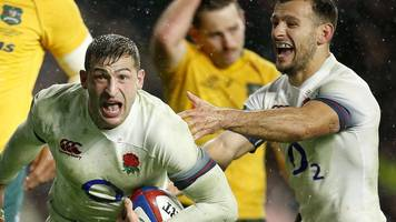 England 30-6 Australia: Watch England's four tries as they beat Australia 30-6.