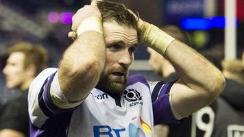 Scotland 17-22 New Zealand: John Barclay - 'We let victory get away'