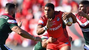 watch highlights as tonga hold on to defeat lebanon