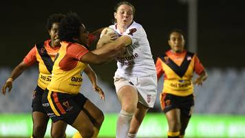 Women's Rugby League World Cup: England Lionesses face holders Australia Jillaroos