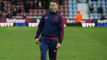 ryan giggs: wales assistant osian robert tips welshman as chris coleman successor