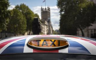 roadblock for london's electric taxis on rapid charge point delays