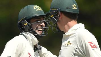 ashes: england humbled by jason sangha & matthew short in townsville