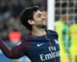 pastore not considering psg exit to help world cup chances