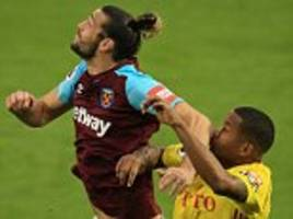 andy carroll must shape up or be shipped out by west ham