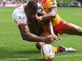 England 36-6 Papua New Guinea: McGillvary on fire again