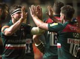 Leicester 35-27 Sale: Tigers edge Sharks in eight-try epic