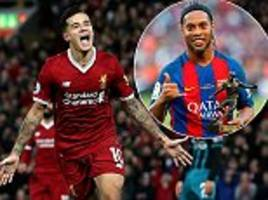 liverpool's philippe coutinho would fit in at barcelona