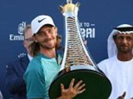 Tommy Fleetwood beats Justin Rose in Race to Dubai