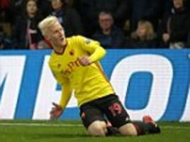 Watford 2-0 West Ham: David Moyes loses first Hammers game