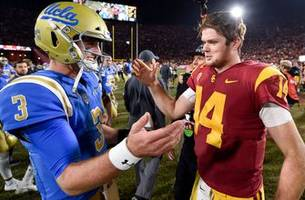 which qb will be taken in the draft first? josh rosen or sam darnold