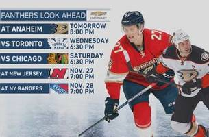 panthers have to have short memory ahead of matchup with ducks