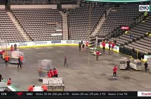 American Airlines Center switches from Hockey to Basketball | Stars Live