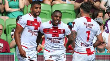 Rugby League World Cup: England 30-6 Papua New Guinea